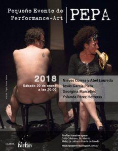 P. E. P. A. Pequeño Evento de Performance Art