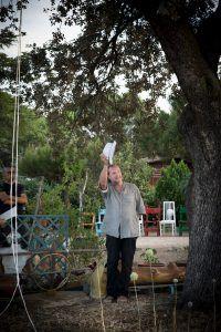 Performance El paseo de Robert Walser - Analía Beltrán i Janés