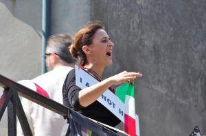 Performance I am not here - Analía Beltrán i Janés
